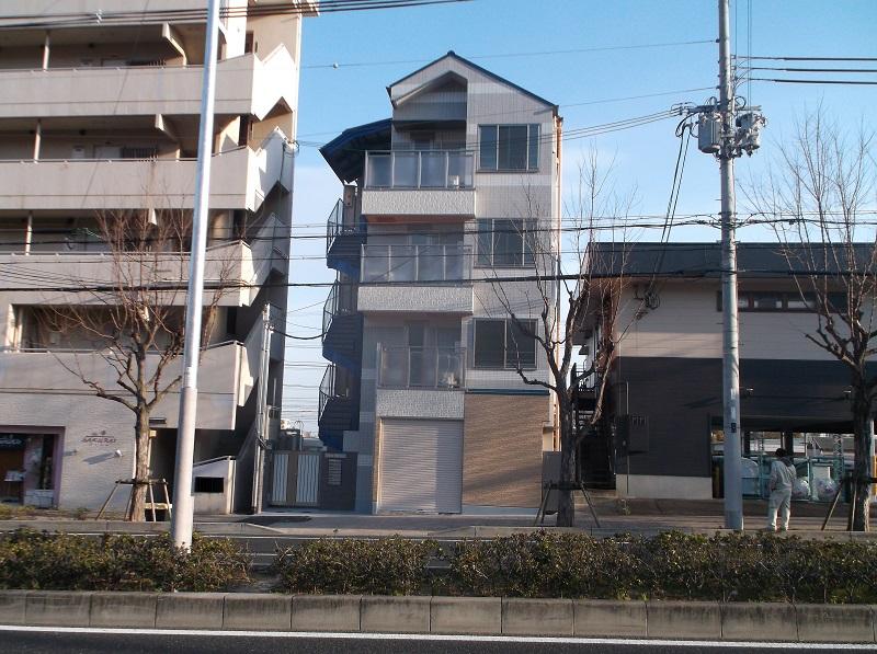 神戸市内 マンション新築工事イメージ01