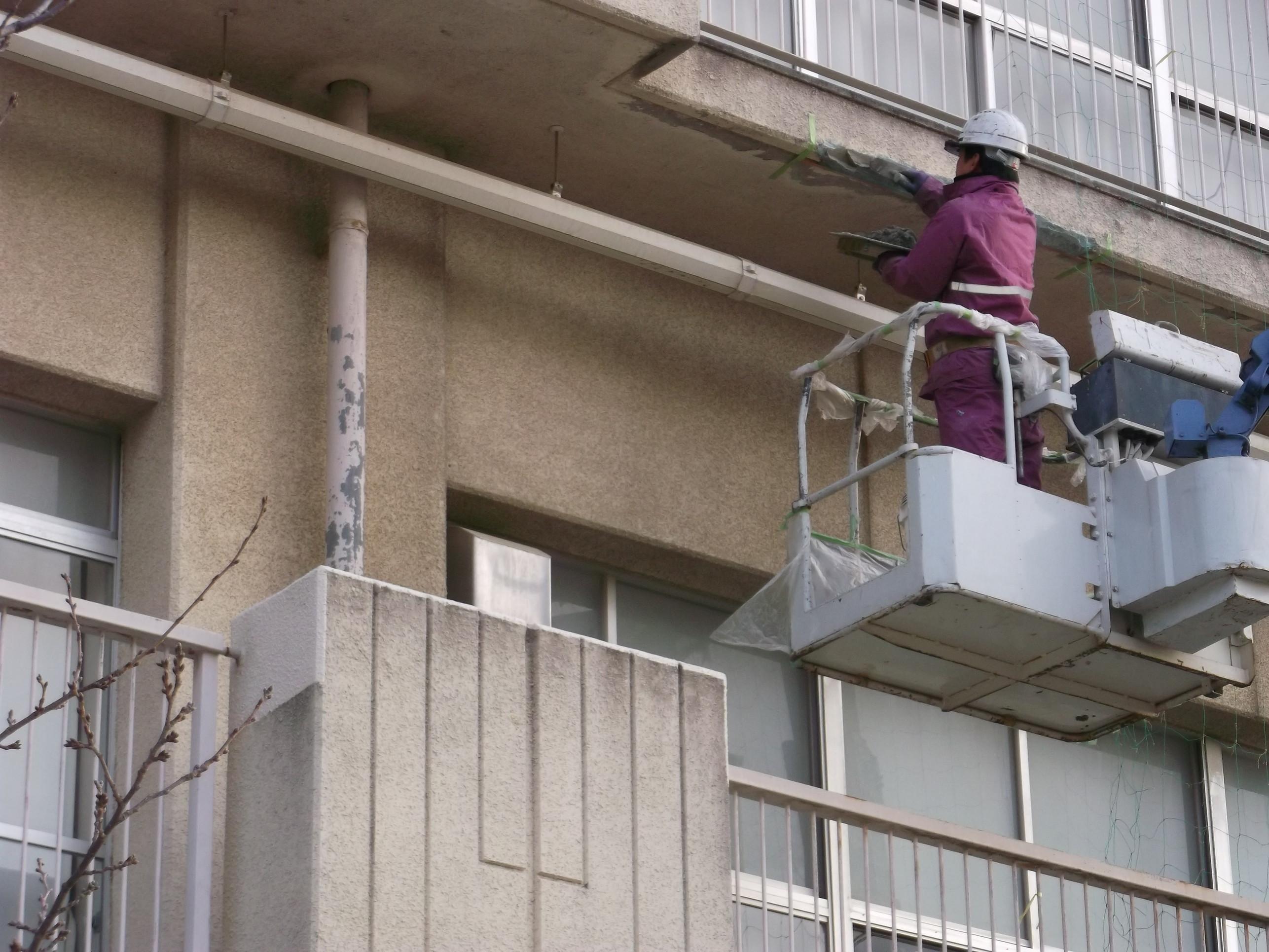 宝塚市 市立小学校 外壁修繕イメージ02