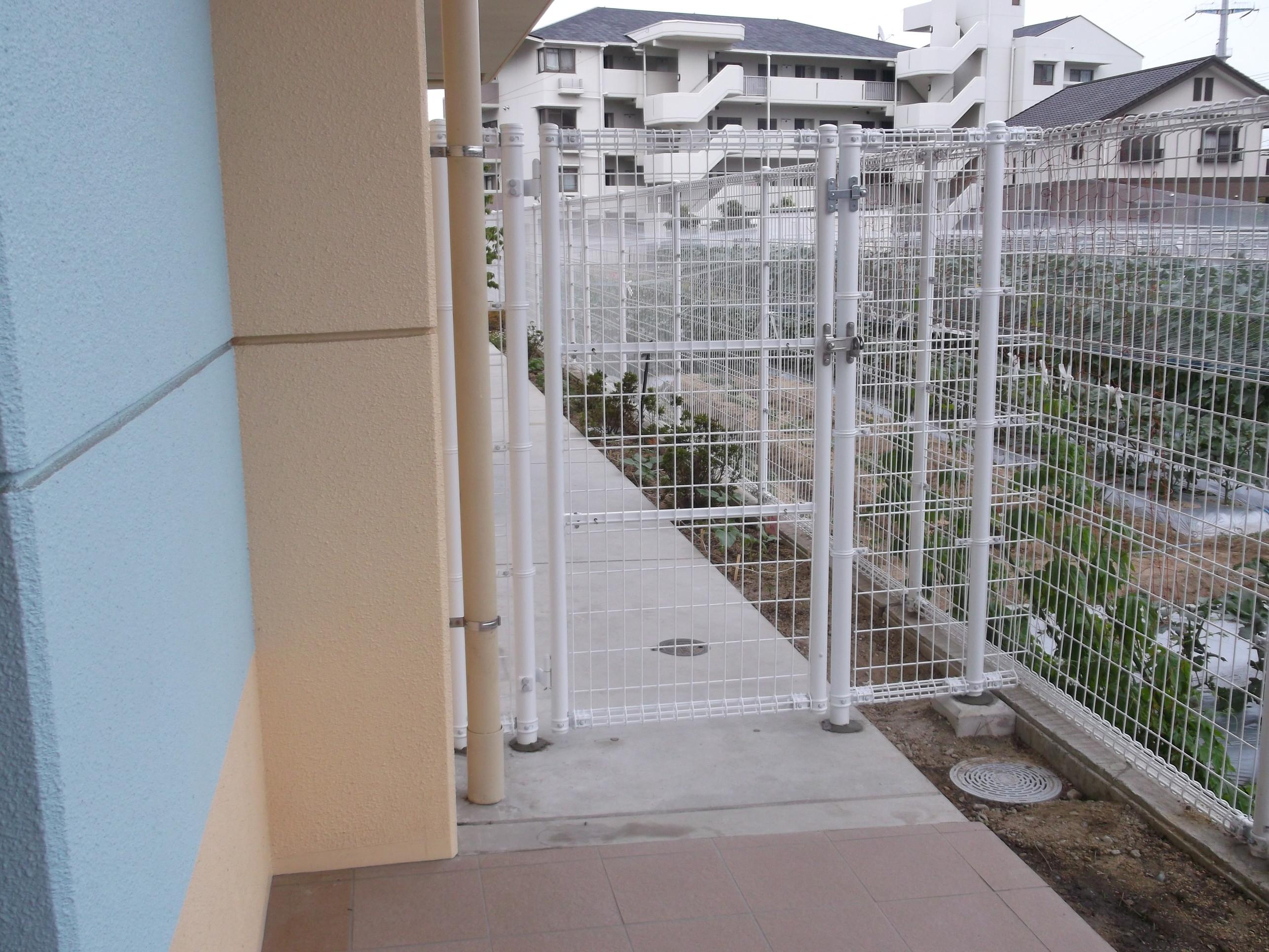 宝塚市 保育園 フェンス設置イメージ02