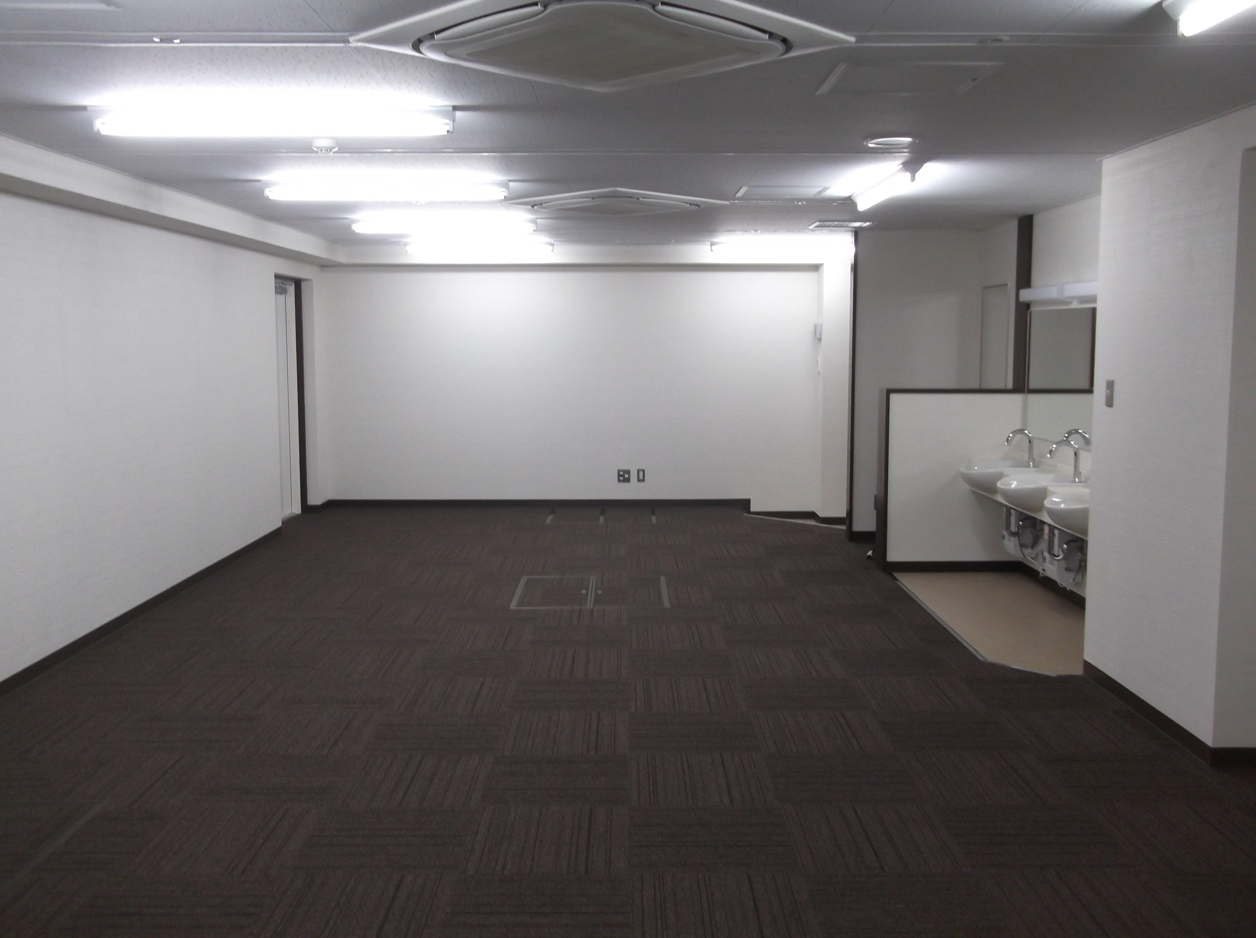宝塚市 病院増築工事イメージ01