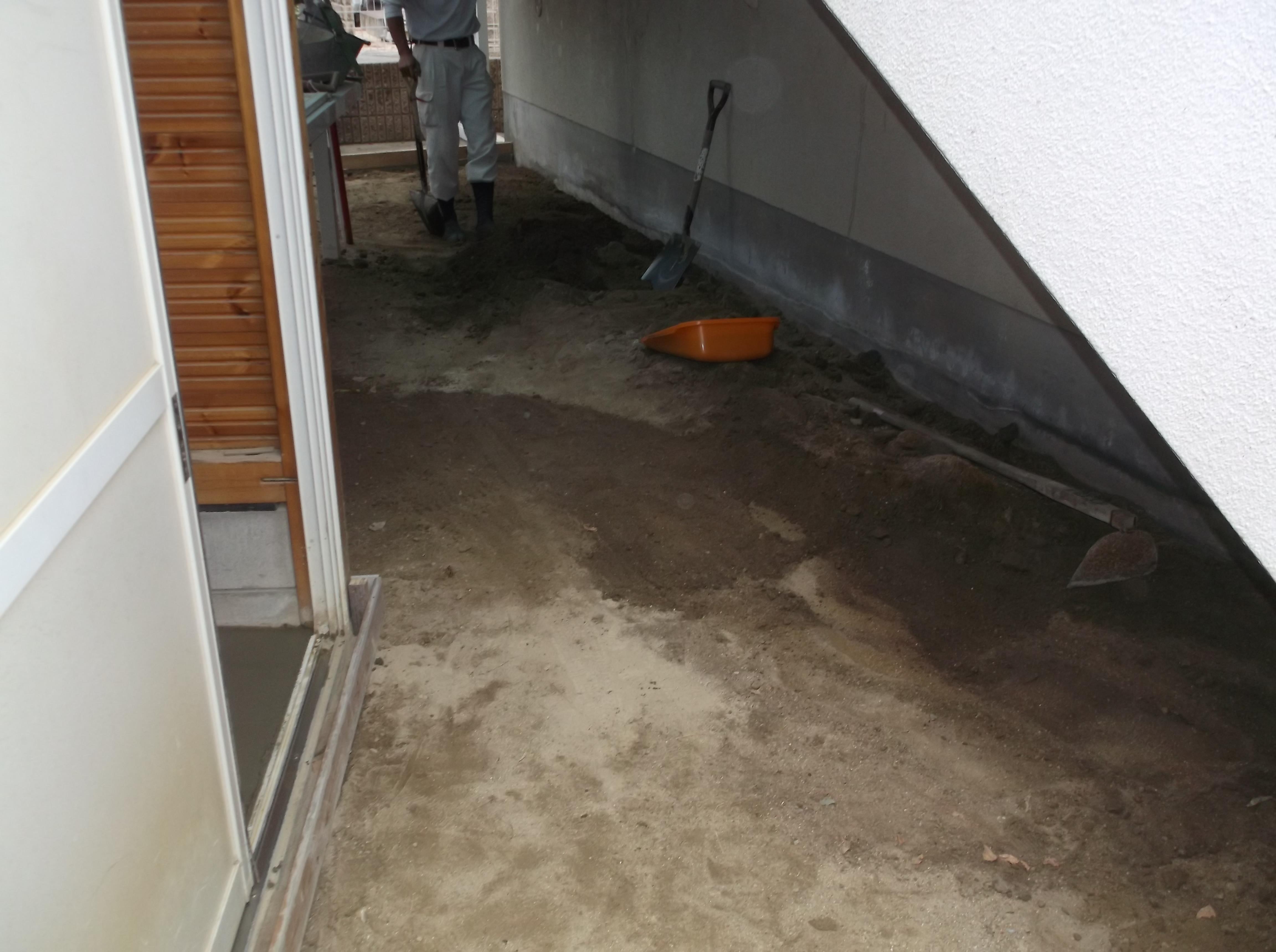 宝塚市 保育園 土間コンクリート工事イメージ02
