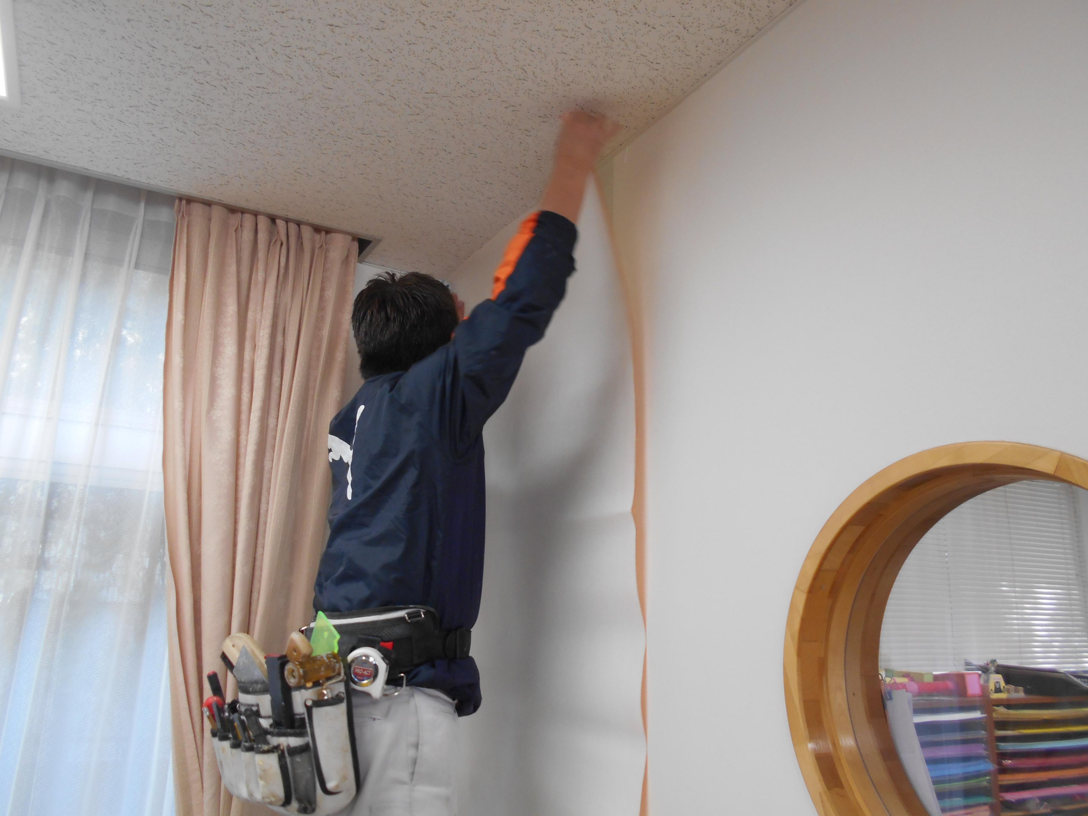 宝塚市 施設 クロス貼替え工事イメージ04
