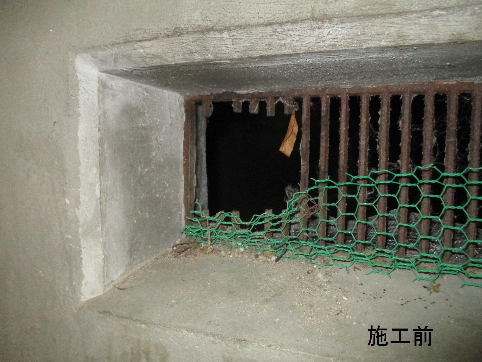 川西市 マンション 床下換気口修繕工事イメージ02