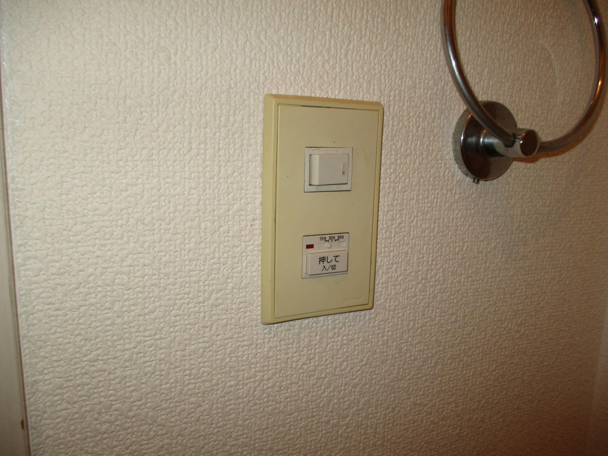 宝塚市 浴室壁付け換気扇取替工事イメージ02