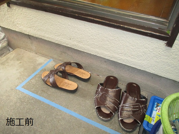 宝塚市 浴室手摺・勝手口踏み台設置工事イメージ03