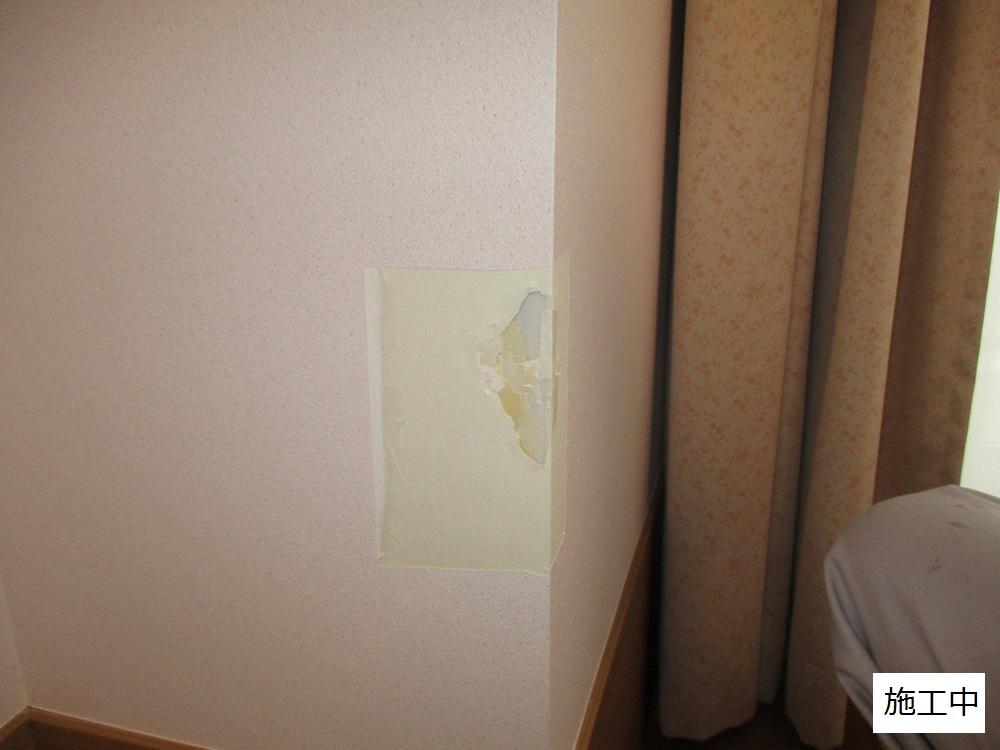 宝塚市 施設 壁クロス貼替工事イメージ03