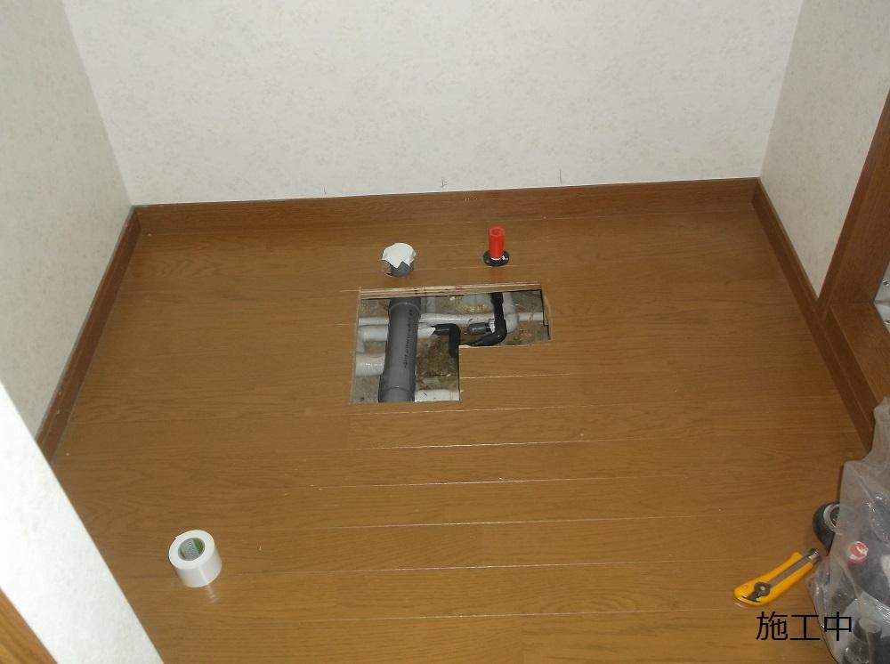 宝塚市 施設 洗面台取付工事イメージ05