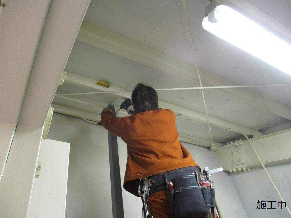 尼崎市 マンション MDF室配線板修繕工事イメージ06