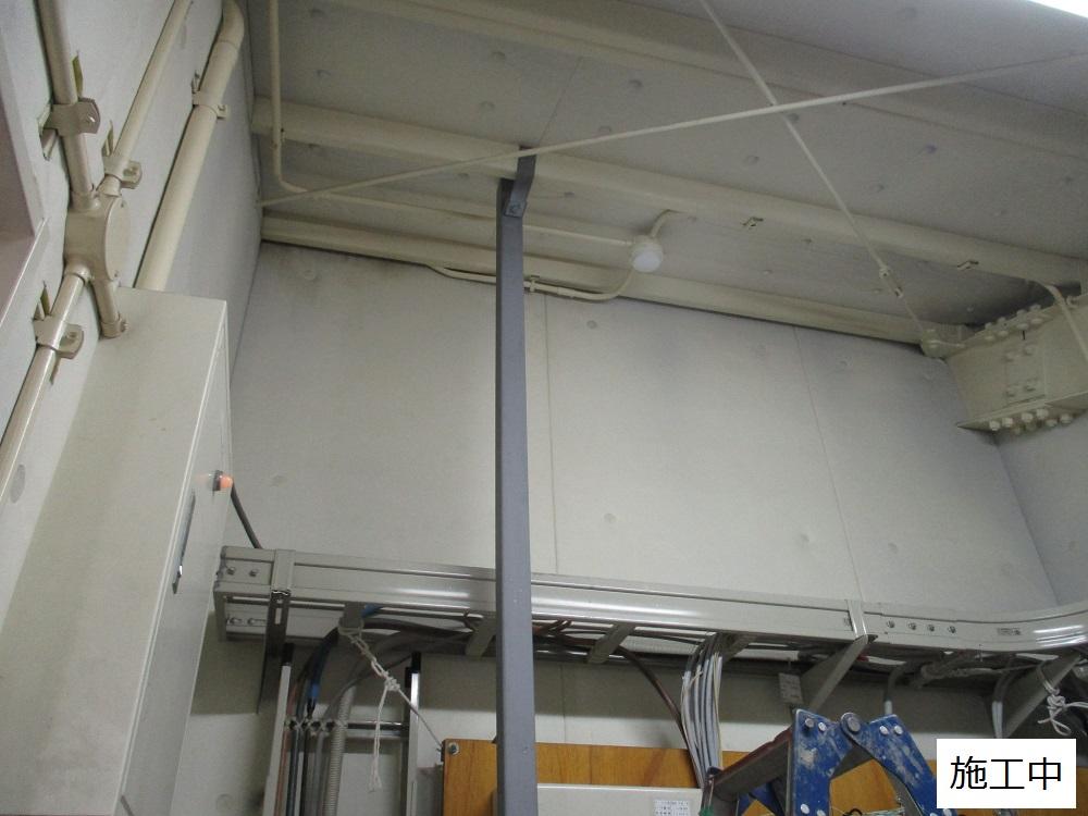 尼崎市 マンション MDF室配線板修繕工事イメージ07