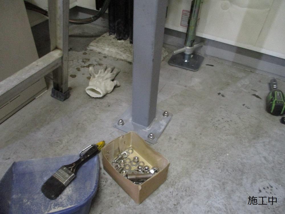 尼崎市 マンション MDF室配線板修繕工事イメージ08