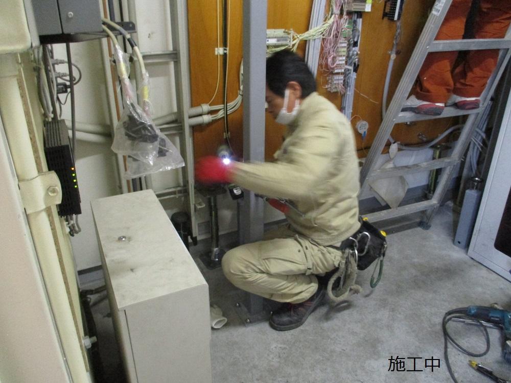 尼崎市 マンション MDF室配線板修繕工事イメージ09