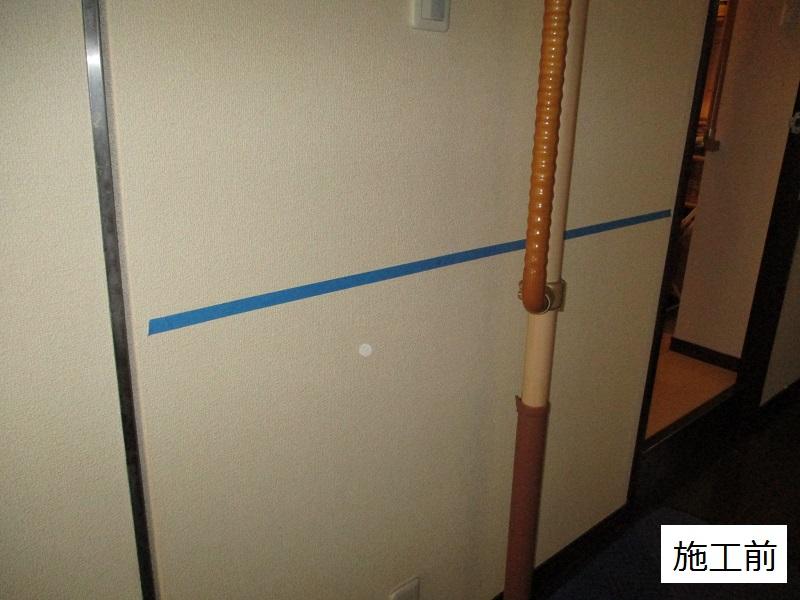宝塚市 玄関・廊下・浴室入口手摺設置工事イメージ05