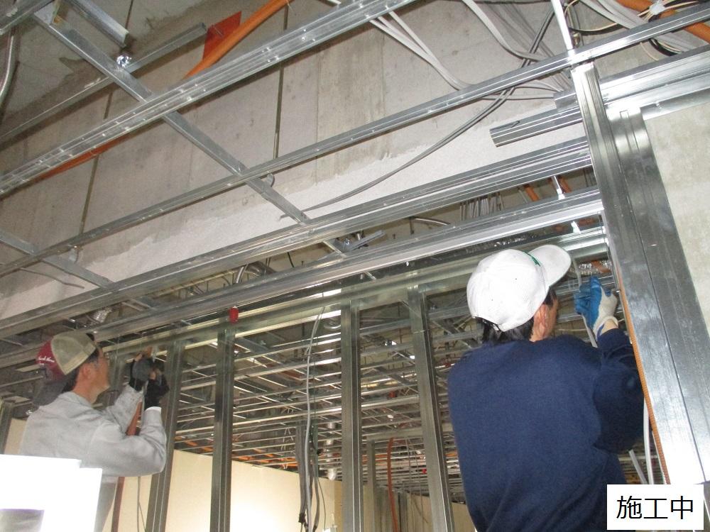 宝塚市 商業施設 防煙垂れ壁取付工事イメージ05