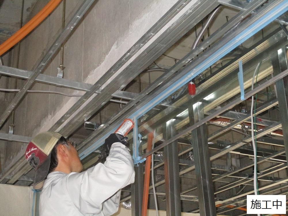宝塚市 商業施設 防煙垂れ壁取付工事イメージ06