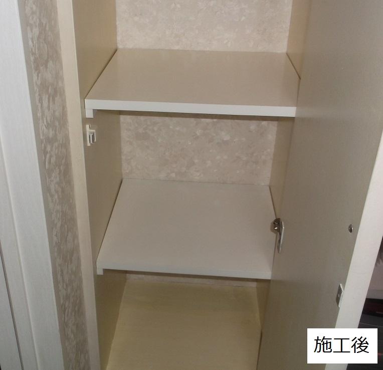 宝塚市 事務所 棚板設置工事イメージ01