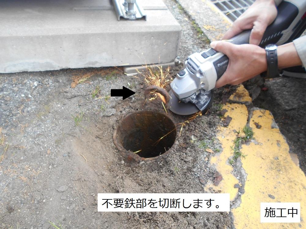 宝塚市 公共施設 駐車場バリカー修繕工事イメージ06