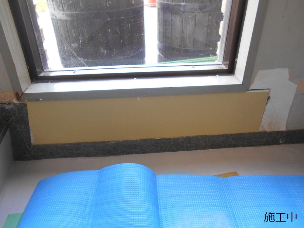 宝塚市 公共施設 階段2階踊り場壁修繕工事イメージ06