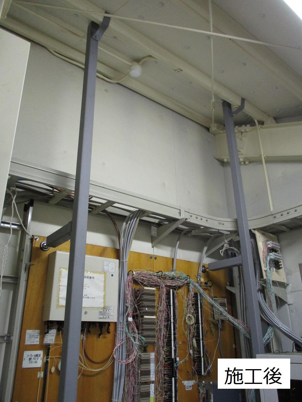 尼崎市 マンション MDF室配線板修繕工事イメージ02