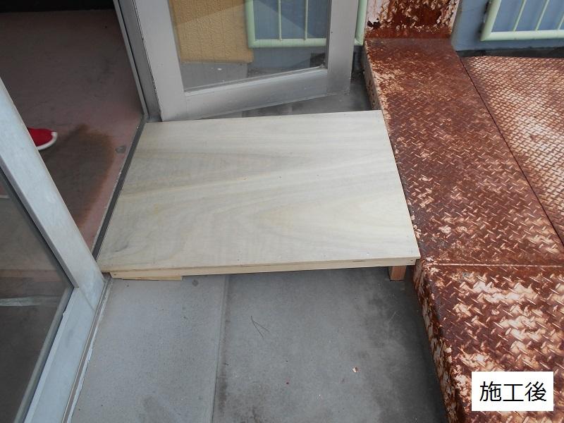 宝塚市 市立小学校 4階渡り廊下スロープ修繕2ヶ所イメージ01