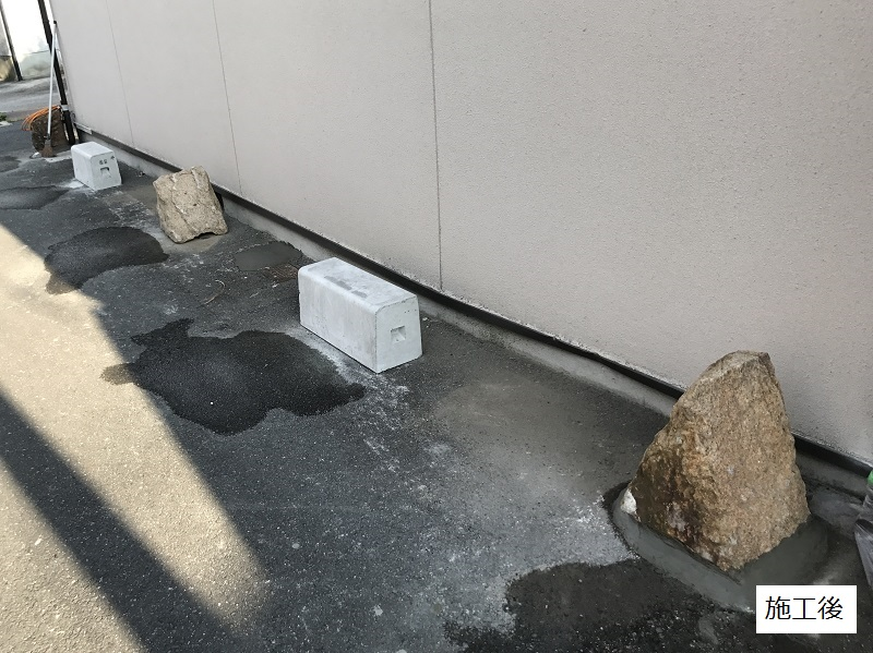 伊丹市 保護石設置工事イメージ05
