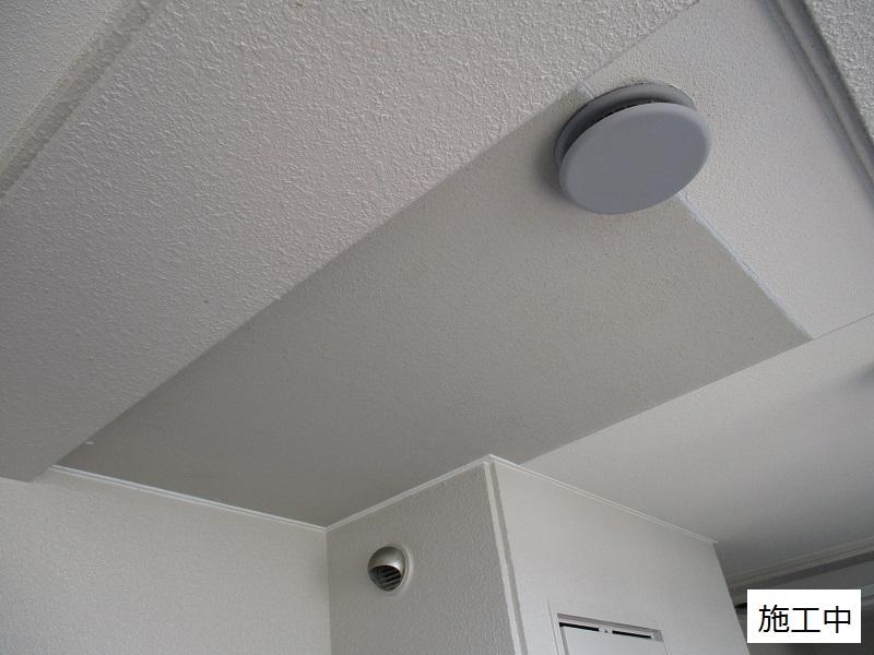 神戸市 マンション 共用廊下天井補修工事イメージ05