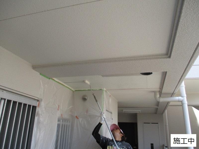 神戸市 マンション 共用廊下天井補修工事イメージ06