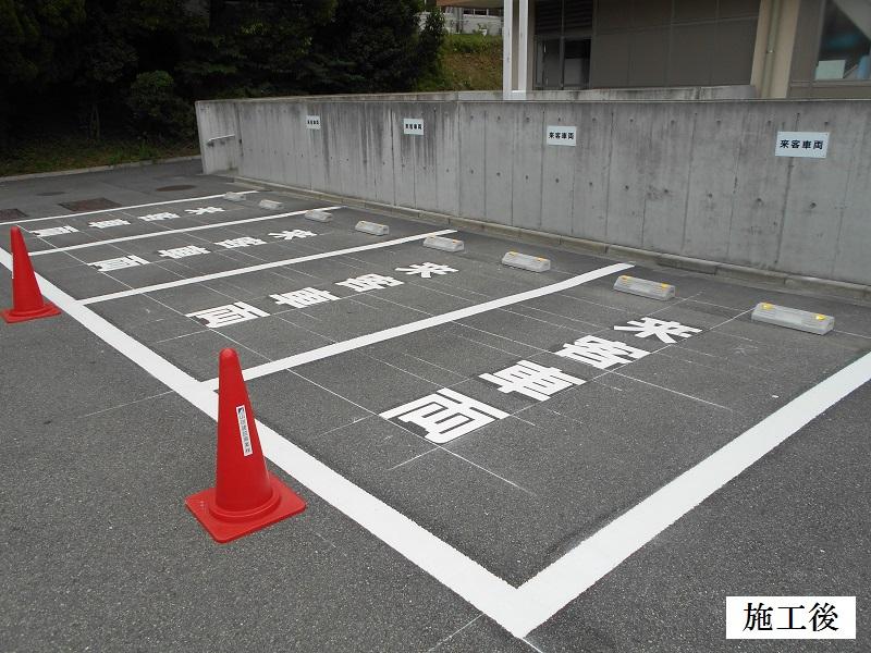 池田市 施設 駐車場区画整備イメージ01
