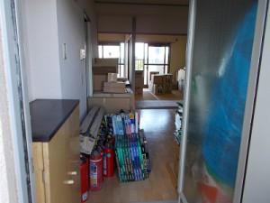 3階の掃除(7)