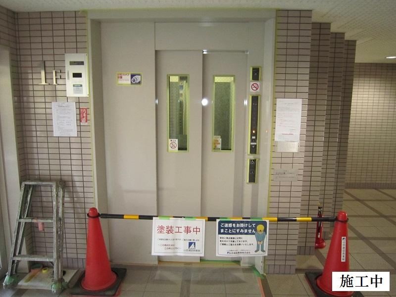 尼崎市 マンション 鉄部塗装工事イメージ08