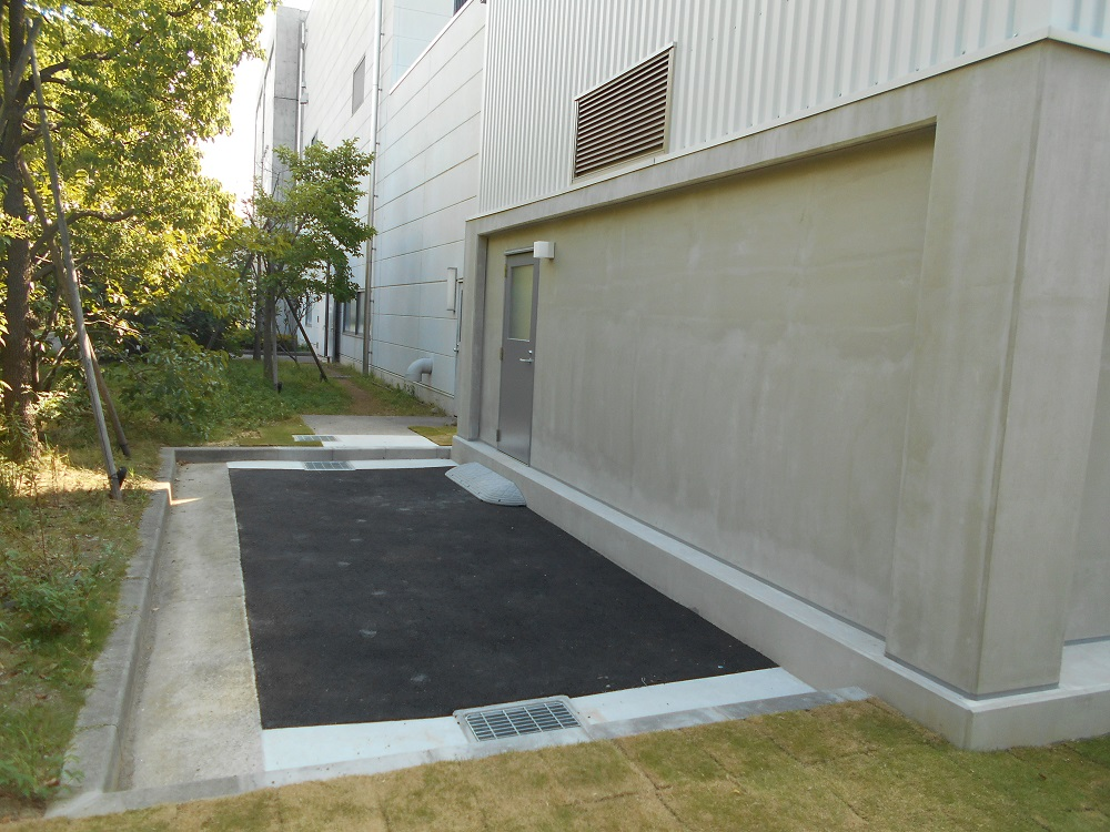 尼崎市 浄水場ケーキヤード設置イメージ06