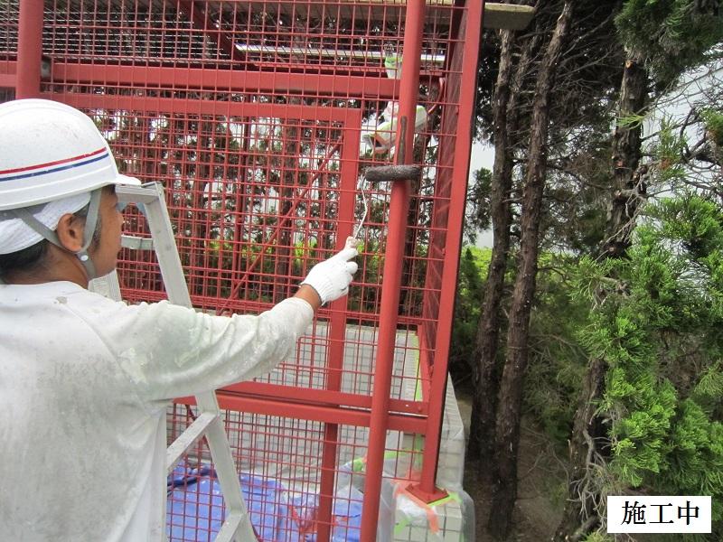 尼崎市 マンション 鉄部塗装工事イメージ06