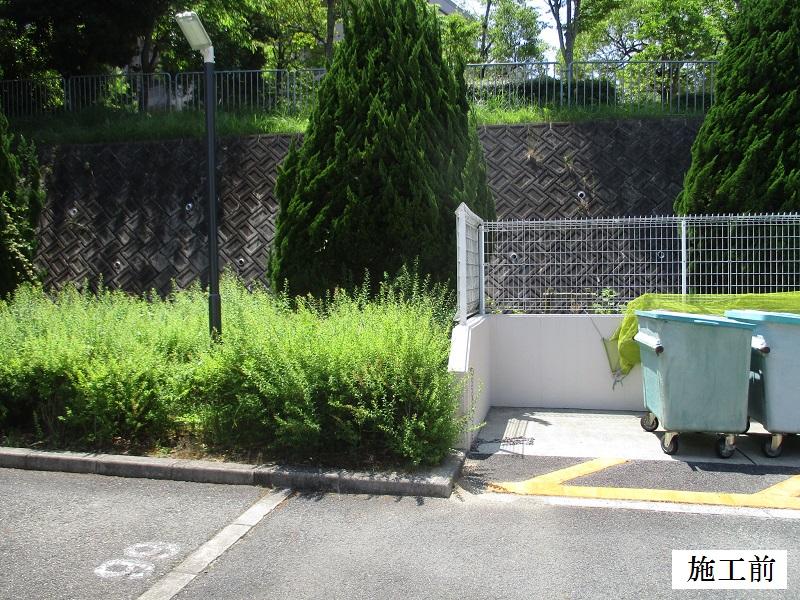 神戸市 マンション カーブミラー設置他工事イメージ03