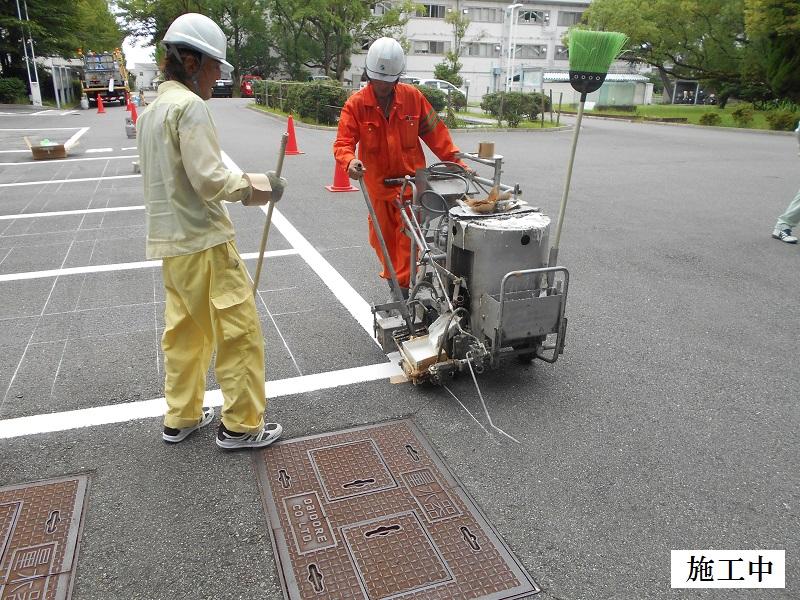 池田市 施設 駐車場区画整備イメージ07