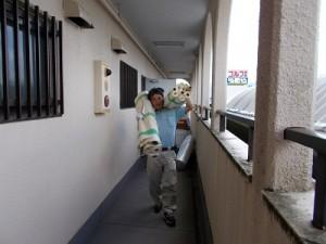 3階の掃除(2)