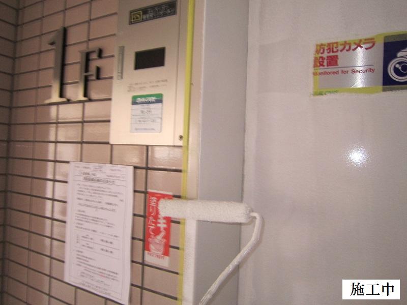 尼崎市 マンション 鉄部塗装工事イメージ09