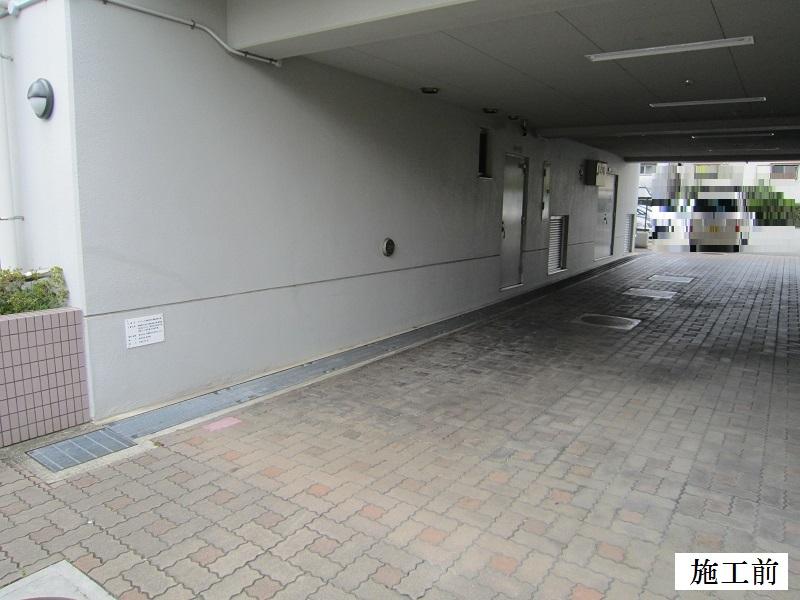 尼崎市 マンション 駐車駐輪ライン引き工事イメージ04