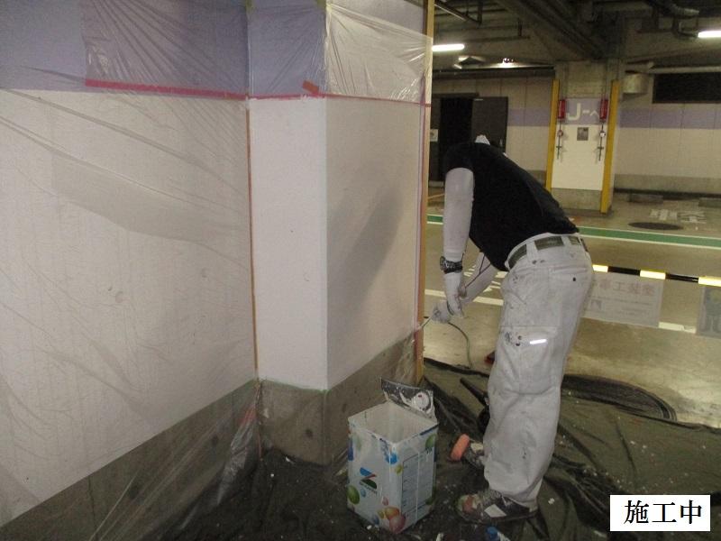 宝塚市 商業施設 駐車場区画修繕工事イメージ07