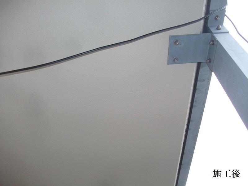 宝塚市 施設 バルコニー庇塗装補修工事イメージ03