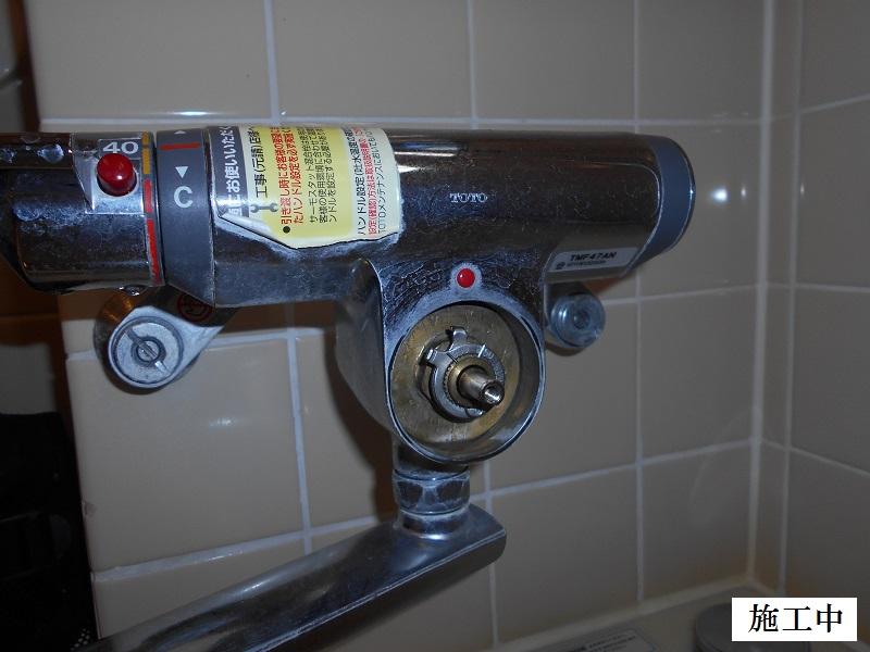 宝塚市 施設 浴室水栓修繕イメージ05