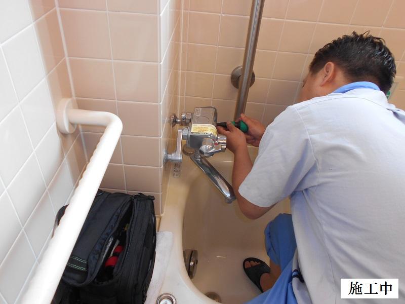 宝塚市 施設 浴室水栓修繕イメージ02