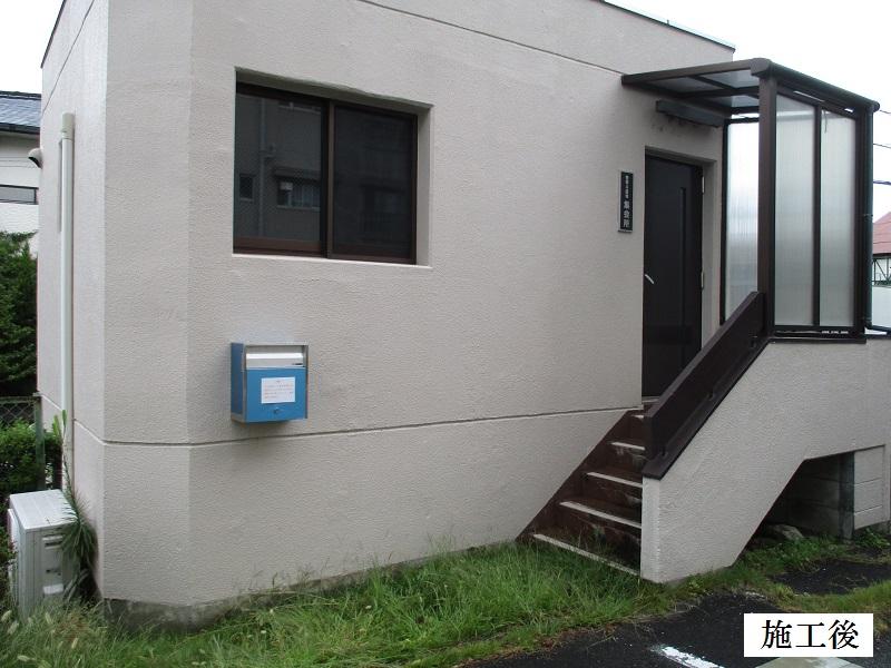 神戸市 地域集会所 ポスト設置工事イメージ01