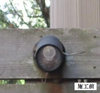 宝塚市 インターホン・防犯用ライト取替工事イメージ06