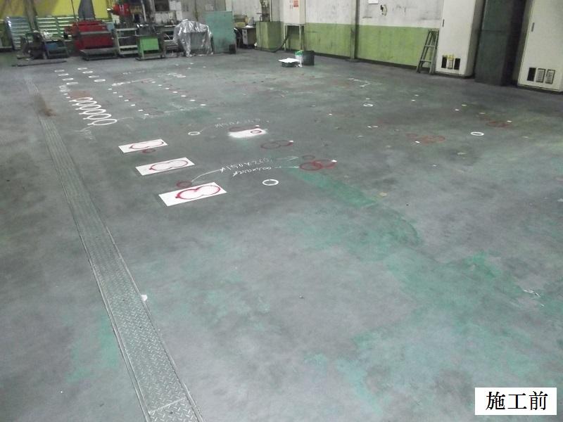 伊丹市 某工場 コア抜き及び無収縮モルタル充填工事イメージ07