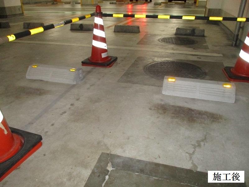 宝塚市 商業施設 駐車場区画修繕工事イメージ01