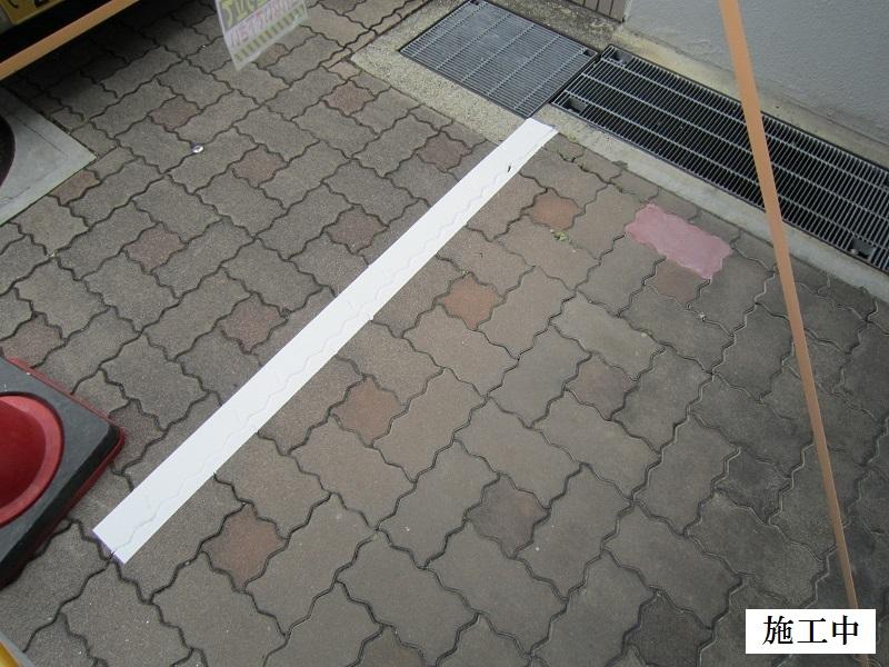尼崎市 マンション 駐車駐輪ライン引き工事イメージ09