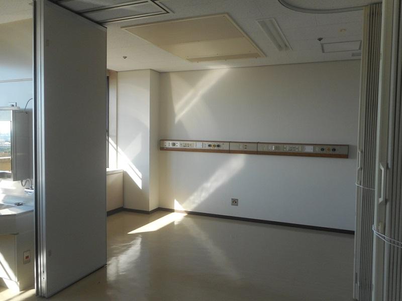 宝塚市 病院 無菌室整備工事イメージ01