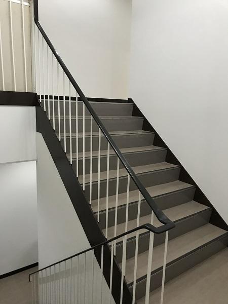 宝塚市 社屋 1・2階廊下内装改修工事イメージ02