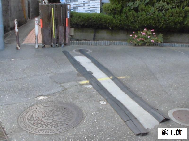 宝塚市 事務所 入口ゲート取替工事イメージ03
