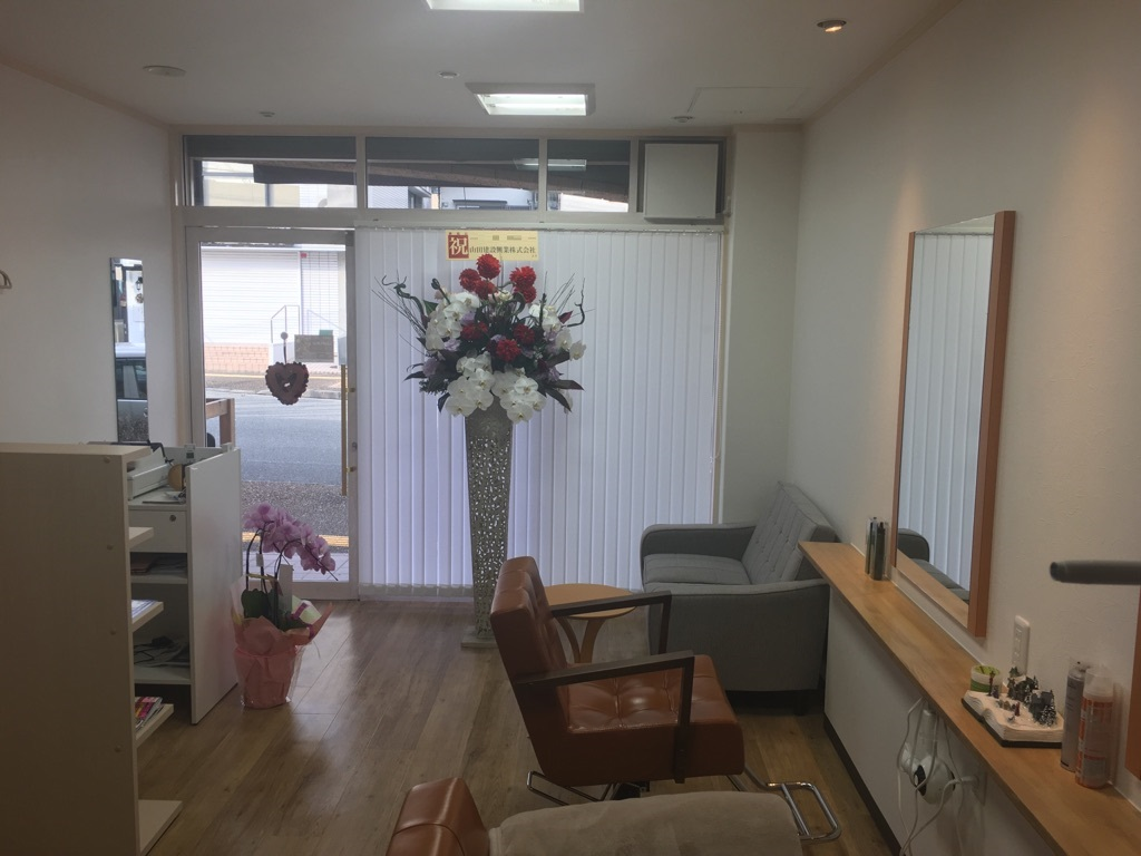 宝塚市 美容院 内装改装工事イメージ01