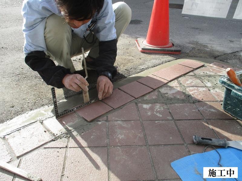 宝塚市 保育園 玄関前破損修繕イメージ08